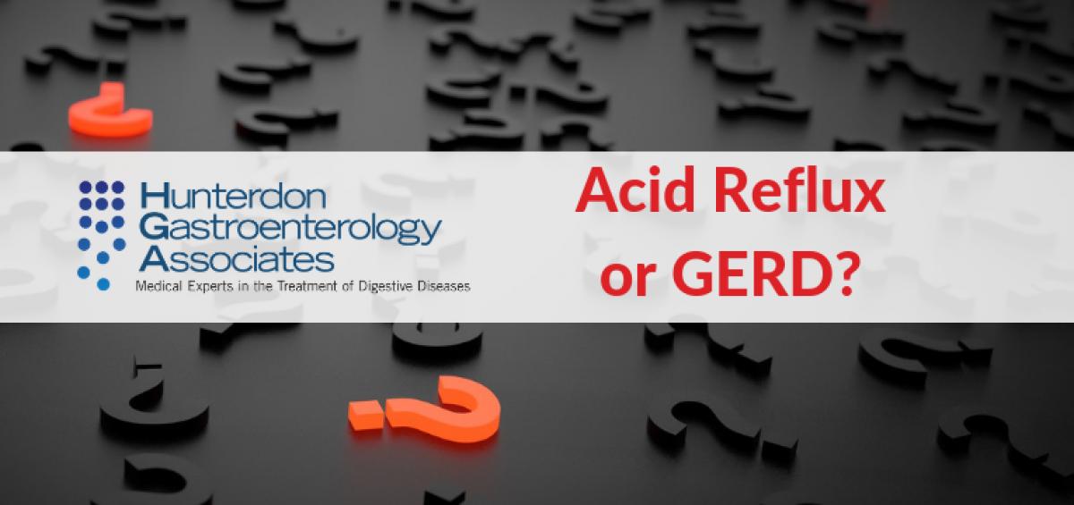 Acid reflux gerd