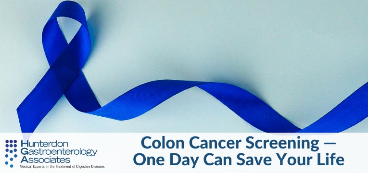 Colon Cancer Screening One Day Can Save Your Life Hunterdon Gastroenterology Associates Digestive Health Specialists Flemington Nj